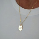QUEEN MOM NECKLACE SILVER