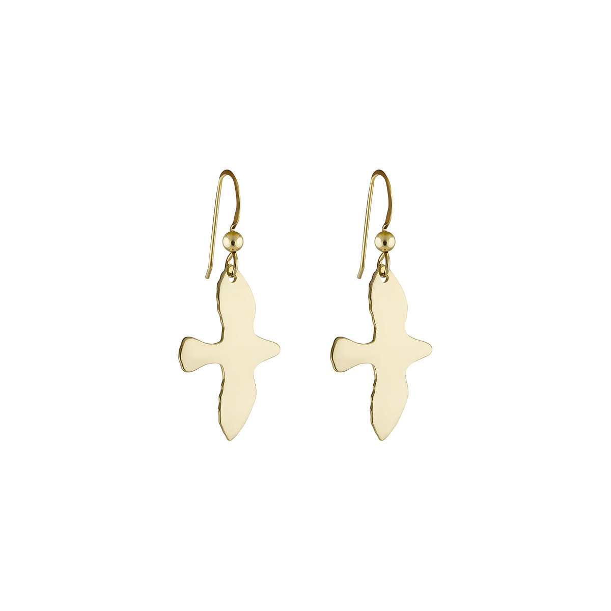 GOLDEN DOVE EARRINGS i gruppen ÖRHÄNGEN hos EMMA ISRAELSSON (ear022)