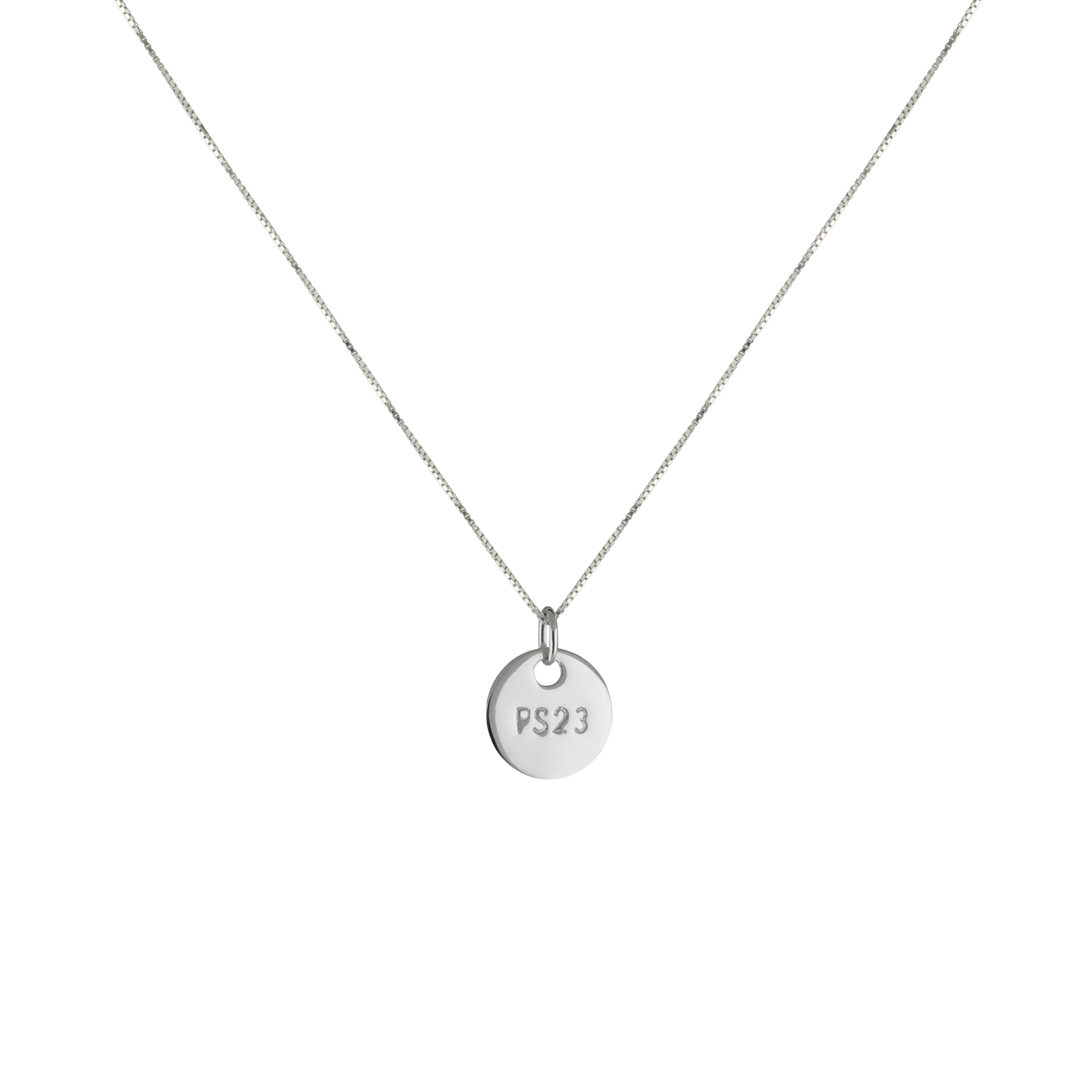PS23 NECKLACE S SILVER i gruppen SHOP / HALSBAND hos EMMA ISRAELSSON (neck004)