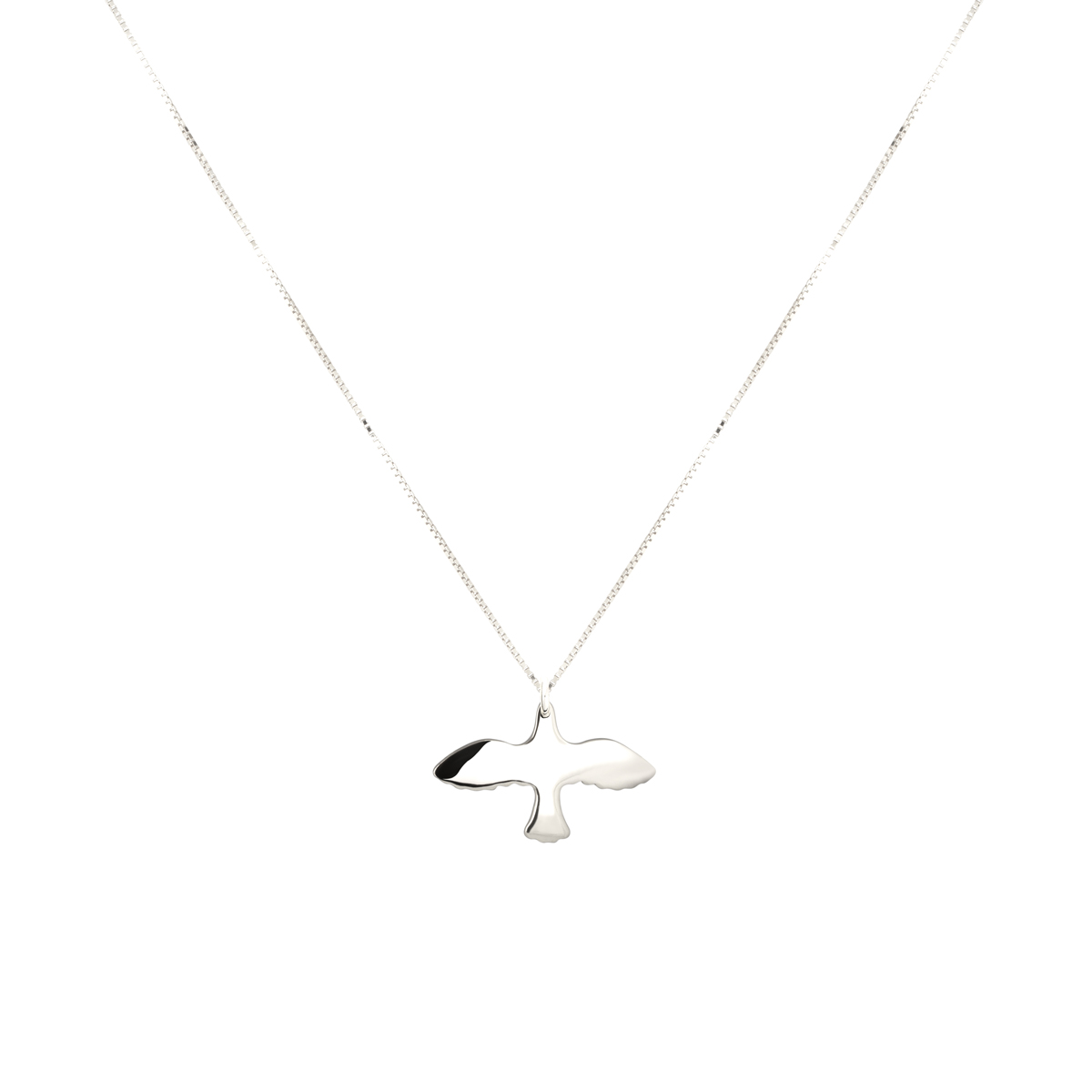 SILVER SMALL DOVE NECKLACE i gruppen HALSBAND hos EMMA ISRAELSSON (neck030)