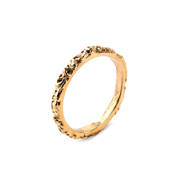 18K Thin Band Ring i gruppen SHOP / RINGAR hos EMMA ISRAELSSON (ring020)